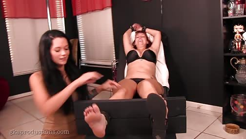GinarysTickleAdventures - Vanessa Rain Is Tricked & Tickled By Maria Marly