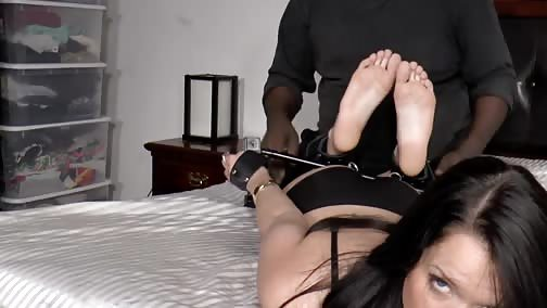 ShyAndWildTickling - Tickling Ms Marley - Part 2 - Spreader Bar Hell