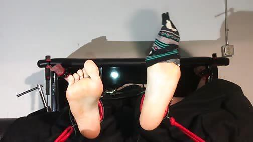 TheStocksStudio - Ana's tickle challenge