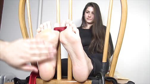 TheTickleRoom - Pulling Back JayRays Toes